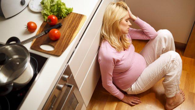 Stress in gravidanza, un sintomo comune durante i 9 mesi